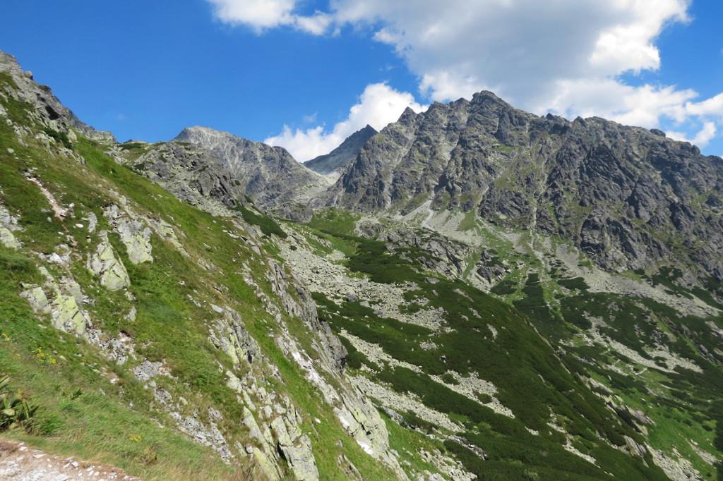 Kôpky z Mengusovské doliny