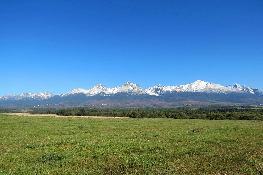 Vysoké Tatry - panorama