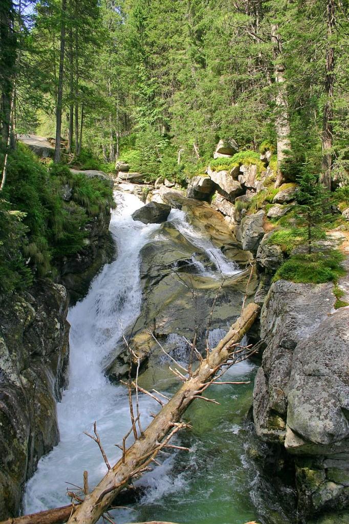Vodopády Studeného potoka III