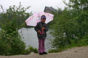 Déšť ve Vysokých Tatrách