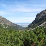 Pohled do Velké Studené doliny