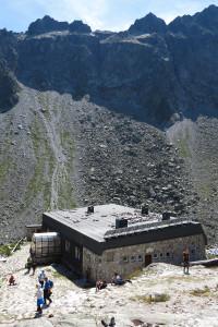 Pohled na Zbojnickou chatu