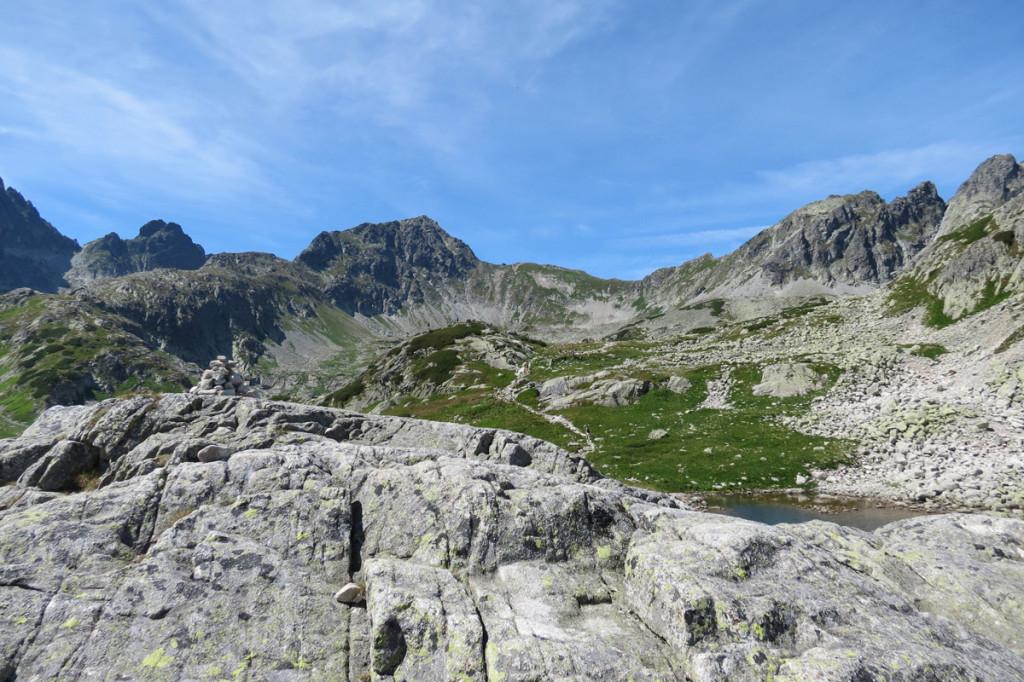 Panorama Velké Studené doliny
